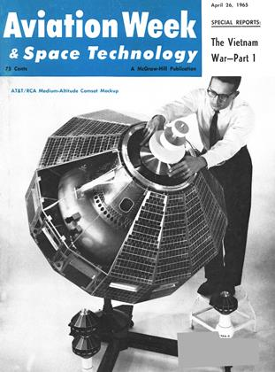 Cover for the April 26 1965 issue