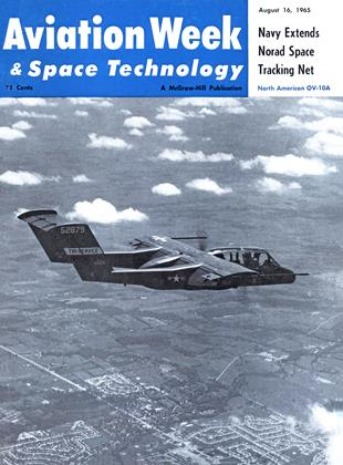Cover for the August 16 1965 issue