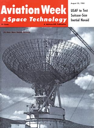 Cover for the August 23 1965 issue