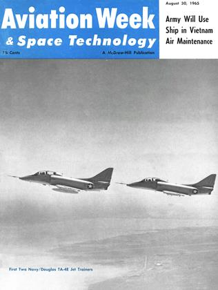 Cover for the August 30 1965 issue