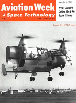 Cover for the September 6 1965 issue
