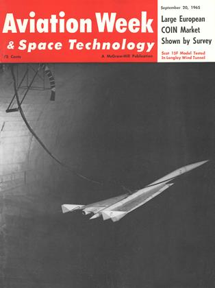 Cover for the September 20 1965 issue