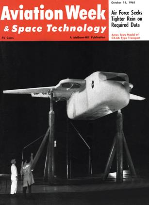 Cover for the October 18 1965 issue