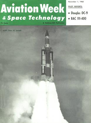 Cover for the November 1 1965 issue