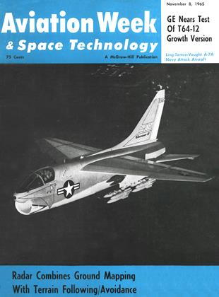 Cover for the November 8 1965 issue