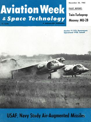 Cover for the November 22 1965 issue