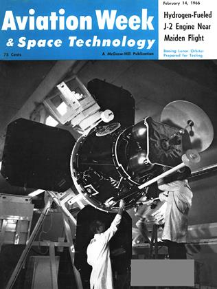 Cover for the February 14 1966 issue