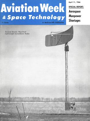 Cover for the April 11 1966 issue