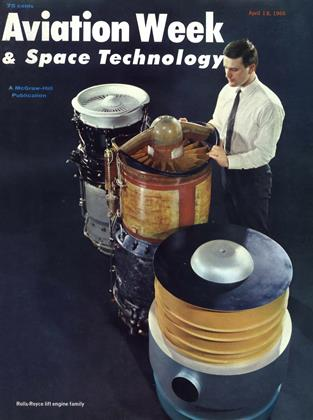 Cover for the April 18 1966 issue