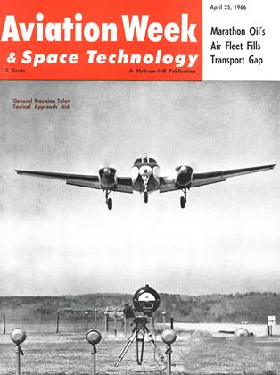 Cover for the April 25 1966 issue