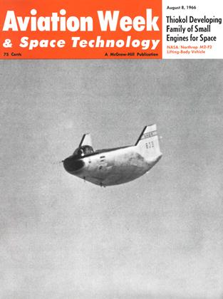 Cover for the August 8 1966 issue
