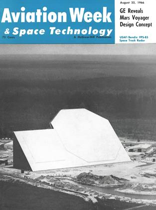 Cover for the August 22 1966 issue
