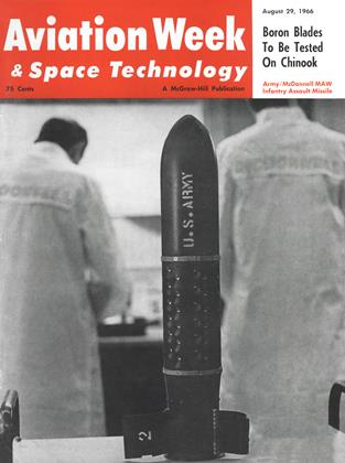 Cover for the August 29 1966 issue