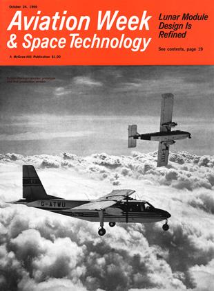 Cover for the October 24 1966 issue