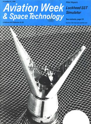 Cover for the November 21 1966 issue