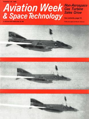 Cover for the November 28 1966 issue
