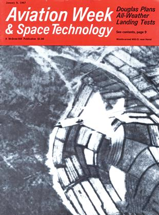 Cover for the January 9 1967 issue