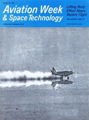 Cover for the January 16 1967 issue