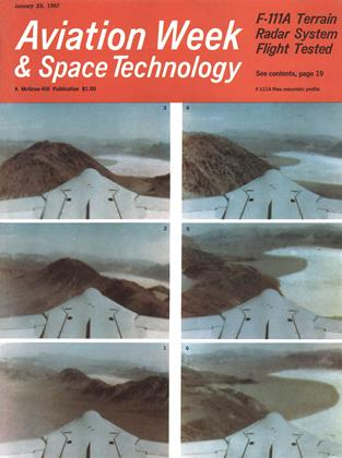Cover for the January 23 1967 issue