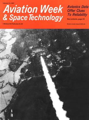 Cover for the February 13 1967 issue