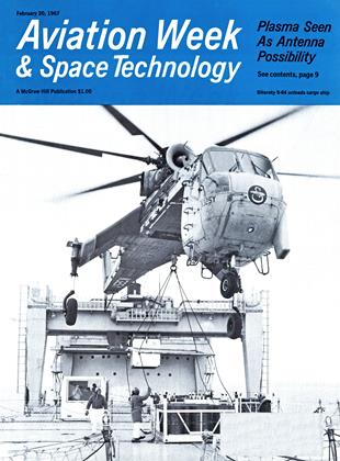 Cover for the February 20 1967 issue