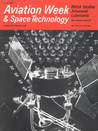 Cover for the April 3 1967 issue