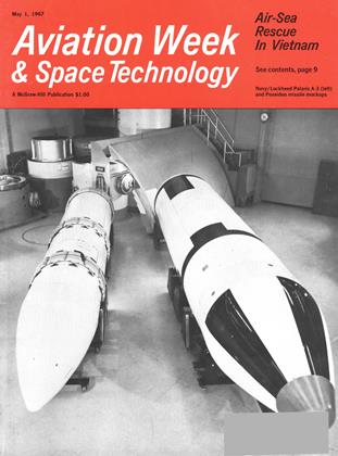 Cover for the May 1 1967 issue