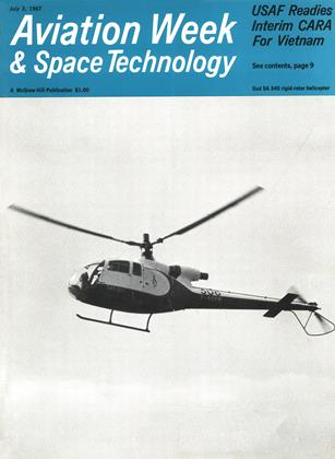 Cover for the July 3 1967 issue