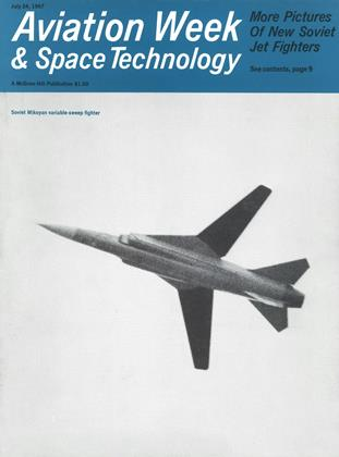 Cover for the July 24 1967 issue