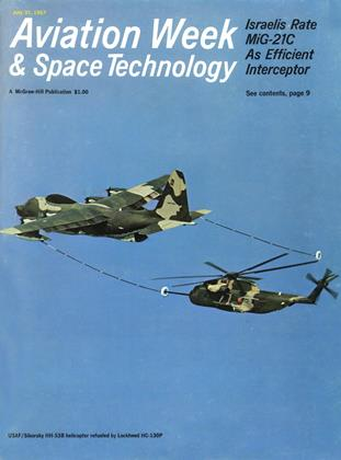 Cover for the July 31 1967 issue