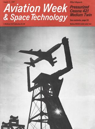 Cover for the August 7 1967 issue