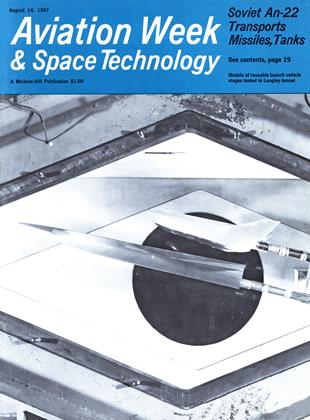 Cover for the August 14 1967 issue