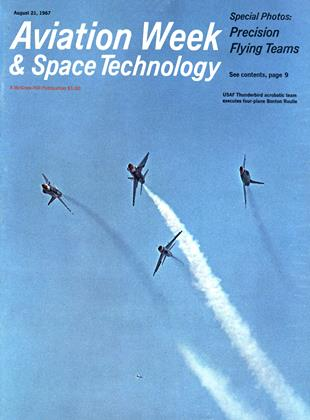 Cover for the August 21 1967 issue
