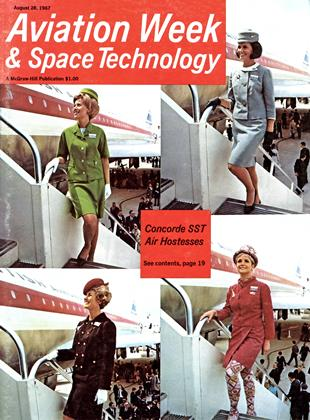 Cover for the August 28 1967 issue
