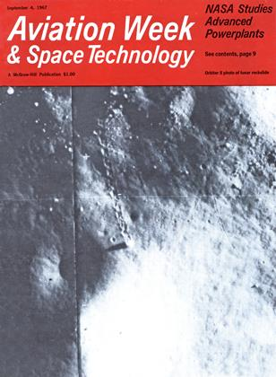 Cover for the September 4 1967 issue