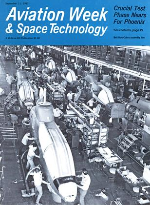 Cover for the September 11 1967 issue