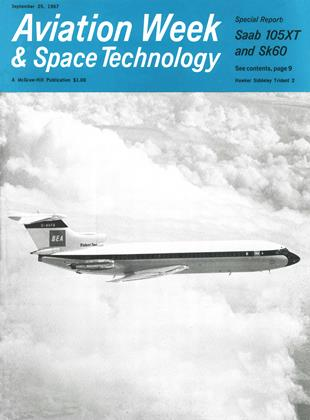 Cover for the September 25 1967 issue