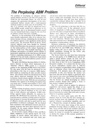 The Perplexing Abm Problem, Page: 21 - October 23, 1967 | Aviation Week