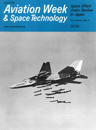 Cover for the January 8 1968 issue