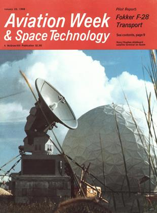Cover for the January 22 1968 issue