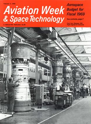 Cover for the February 5 1968 issue