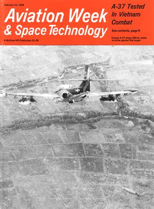 Cover for the February 19 1968 issue