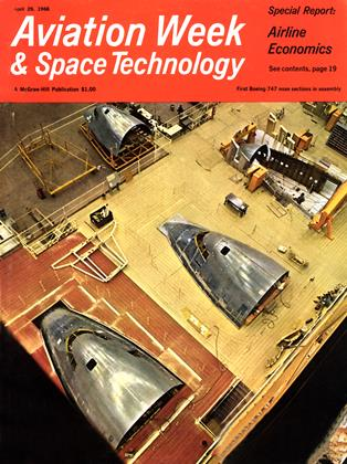 Cover for the April 29 1968 issue