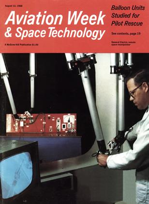 Cover for the August 12 1968 issue