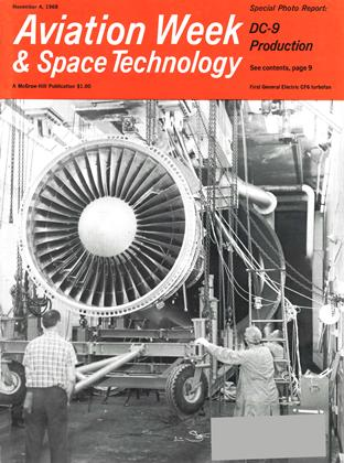 Cover for the November 4 1968 issue