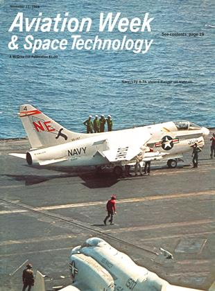 Cover for the November 11 1968 issue