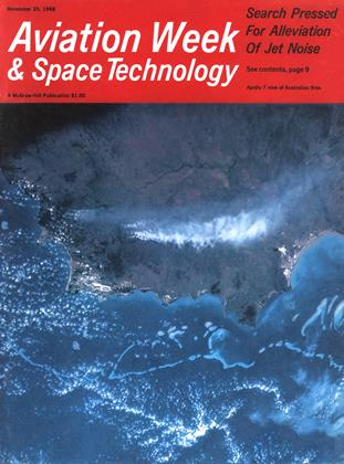 Cover for the November 25 1968 issue