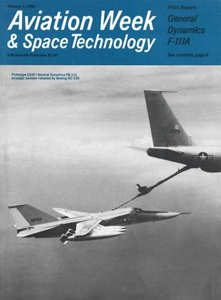 Cover for the February 3 1969 issue