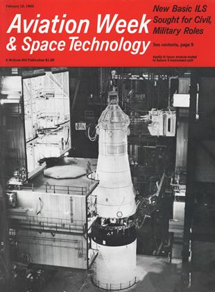 Cover for the February 10 1969 issue