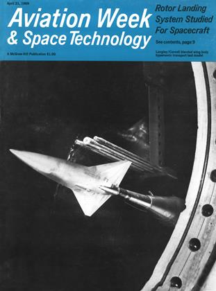 Cover for the April 21 1969 issue